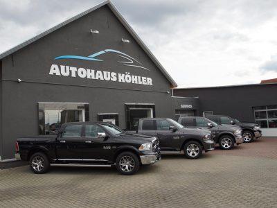Autohaus Köhler Potsdam_Dogde RAM 1500 Flotte