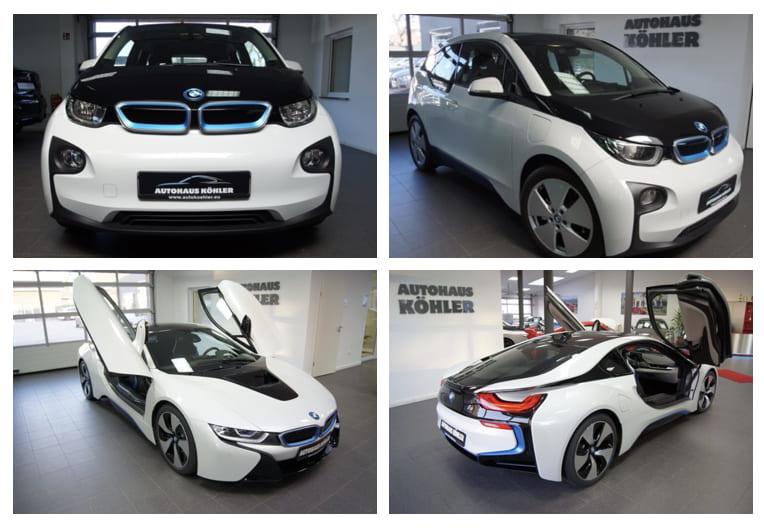 BMW i3 und BMW i8-_E-Car-Autohaus Köhler Potsdam