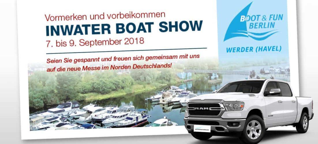 Zu Gast auf der Inwater Boat Show in Werder